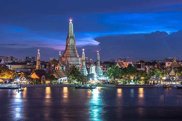 crociera notturna - Bangkok