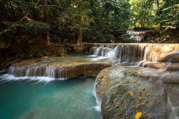cascate di Erawan