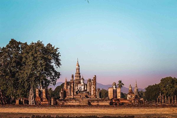 sukhothai  la Thailandia del Nord