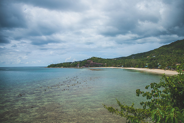 Koh Phangan-le isole vicino Koh Samui
