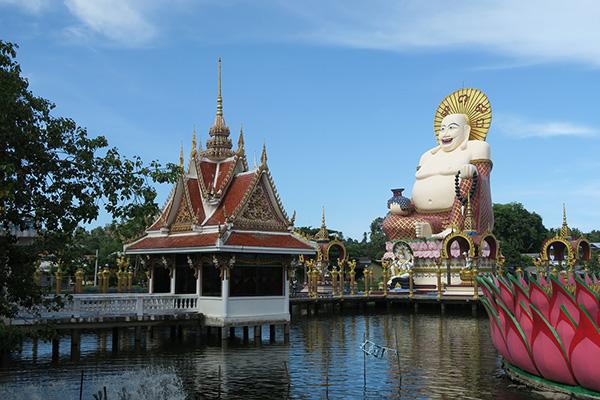Tempio cinese a Koh Samui