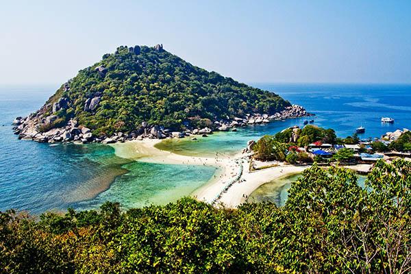 Le piccole isole vicino Koh Samui
