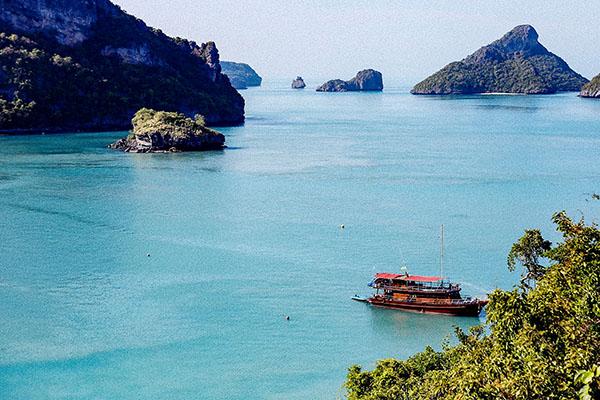 Escursione parco marino Ang Thong