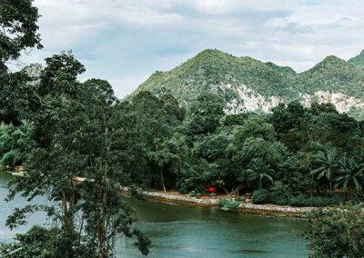 Tour dei parchi nazionali e della provincia di Kanchanaburi