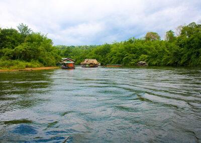 Tour della provincia Kanchanaburi e del fiume Kwai