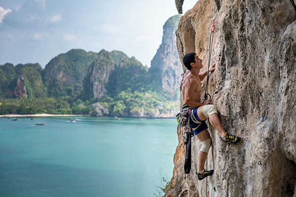 arrampicare in Thailandia