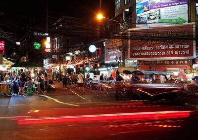 Tour serale di Bangkok