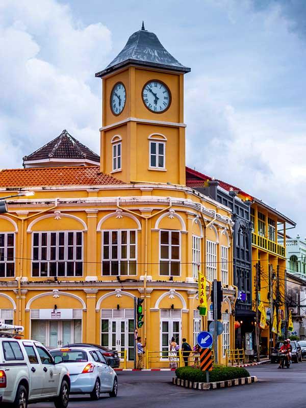 Phuket town Thailandia