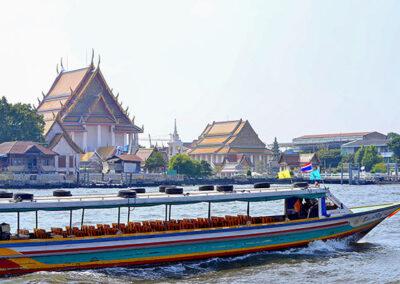 Tour di Thonburi in barca