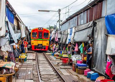 Tour dei mercati di Bangkok